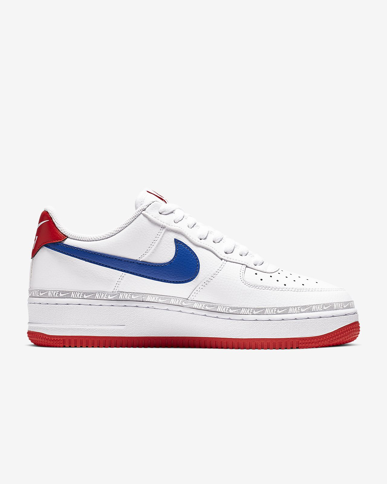 nike air force 1 low white mens trainers billig
