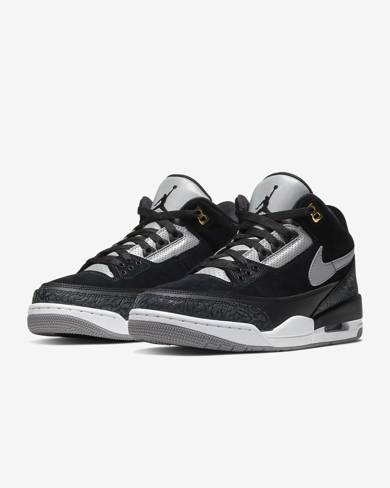 best service ae783 2748d Air Jordan 3 Retro Tinker Men's Shoe