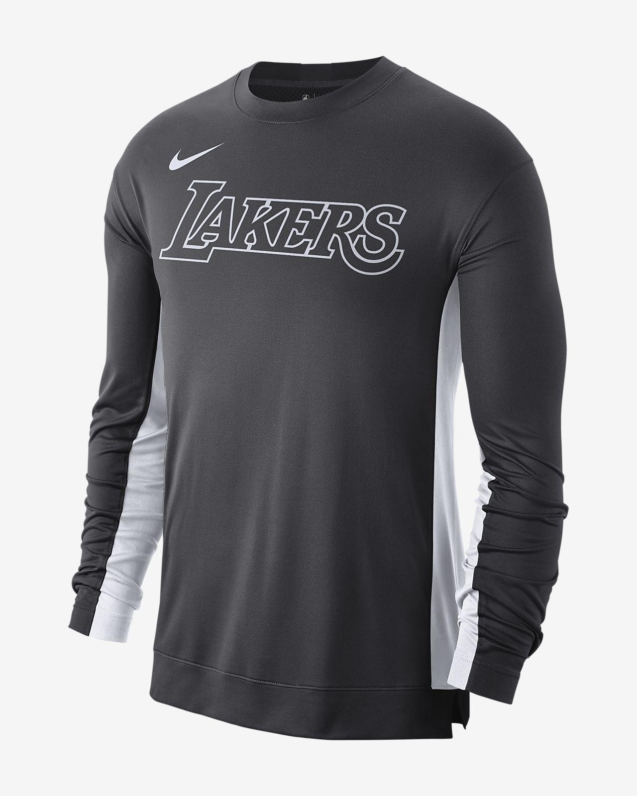 Los Angeles Lakers Nike Dri-FIT NBA baskettrøye til herre