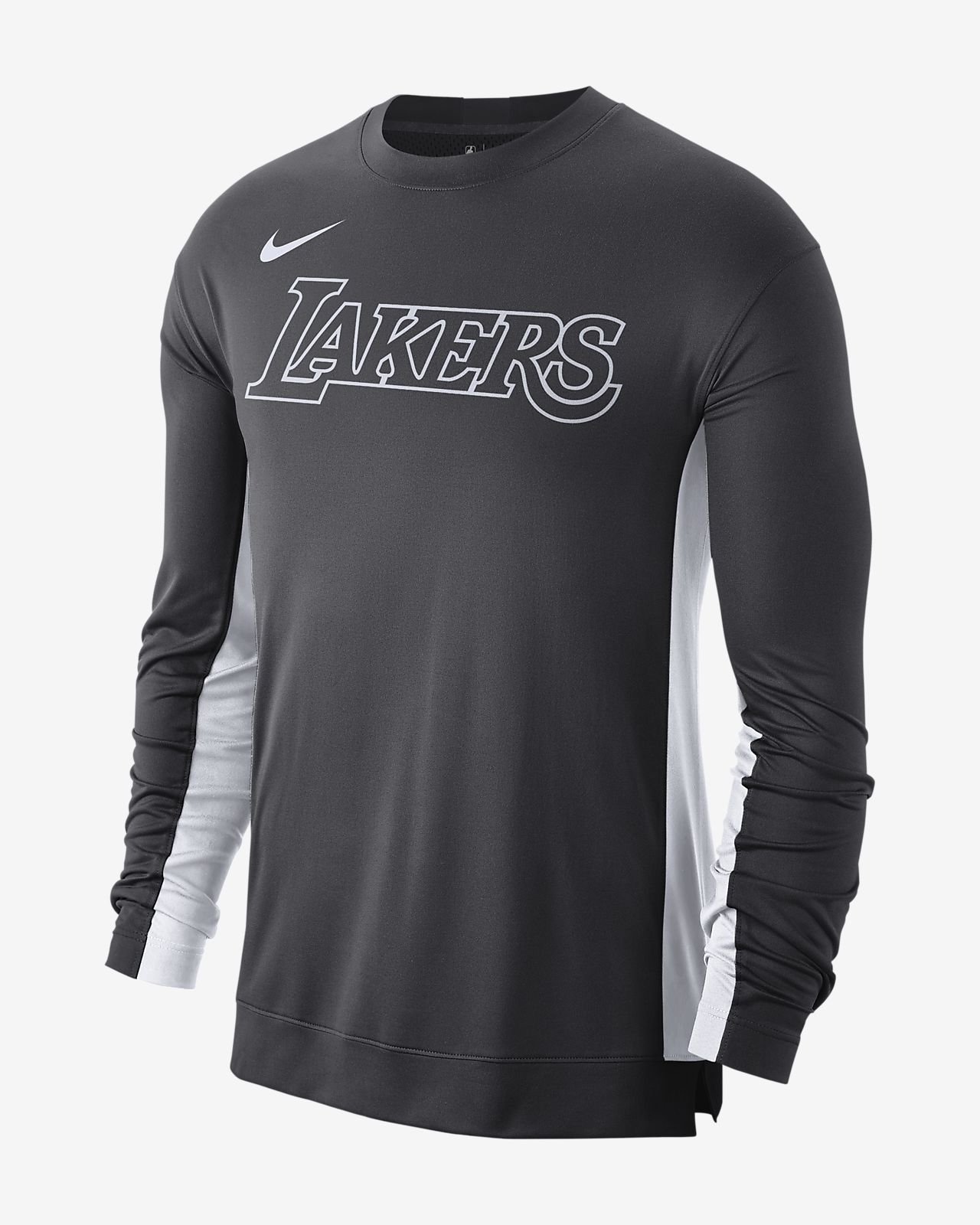 Playera de entrenamiento de la NBA para hombre Los Angeles Lakers Nike Dri-FIT