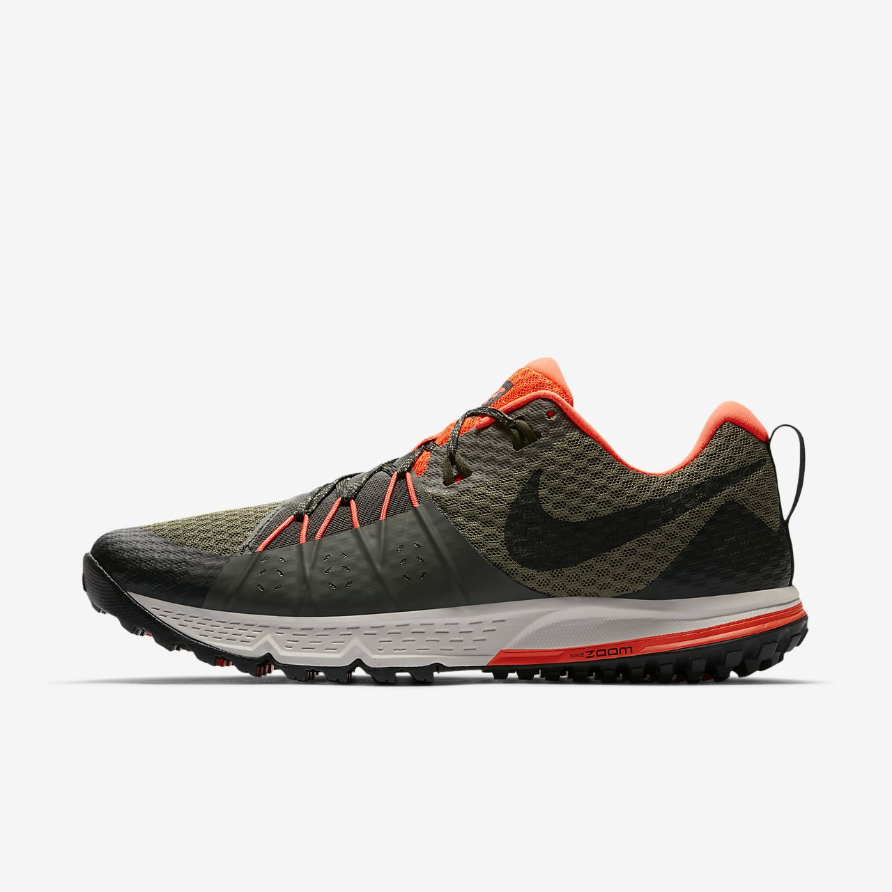 Latest Nike Zoom Wildhorse 4 Dark Grey/Wolf Grey/Black/Stealth For Men Outlet