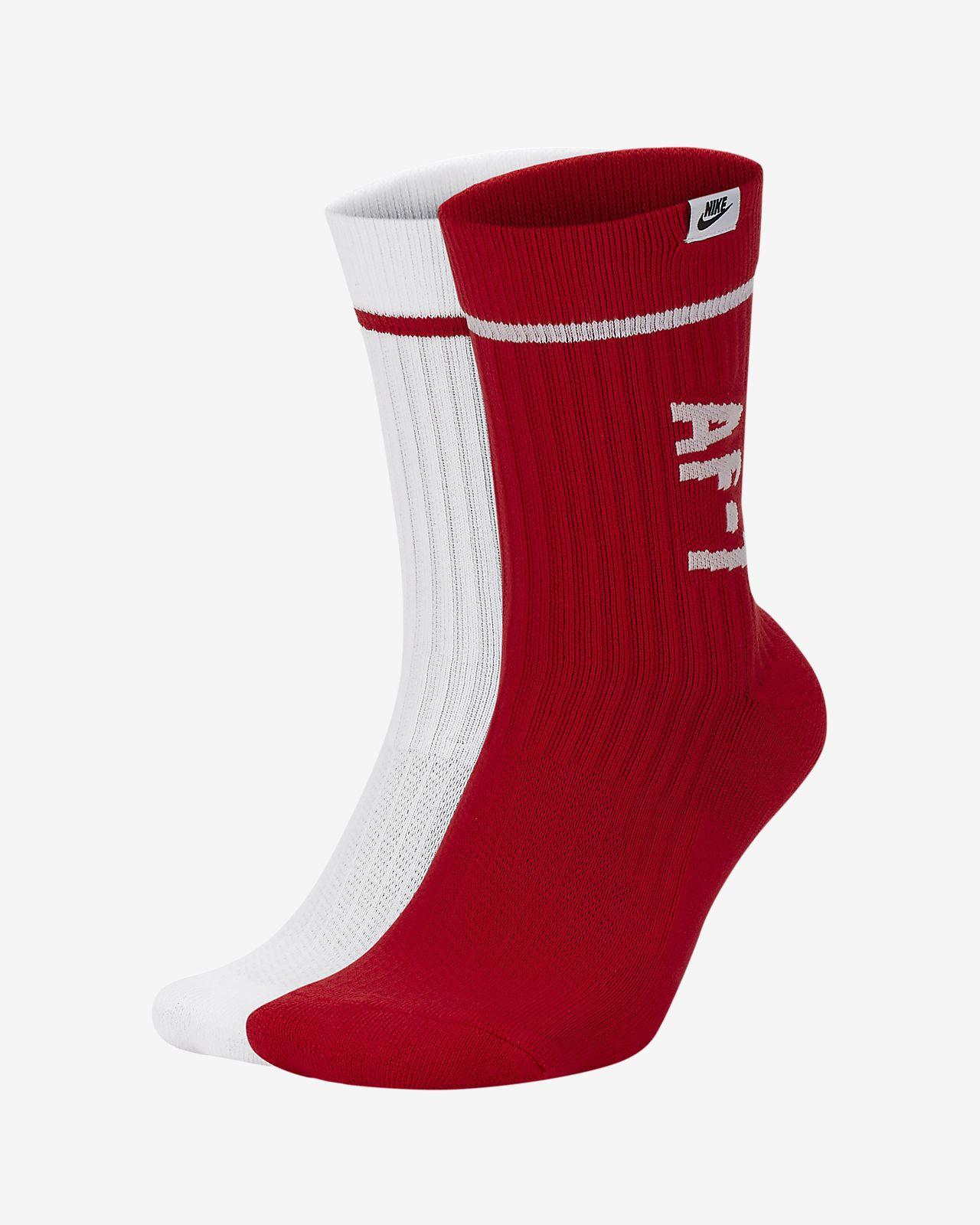 Nike SNEAKR Sox AF-1 Crew Socks