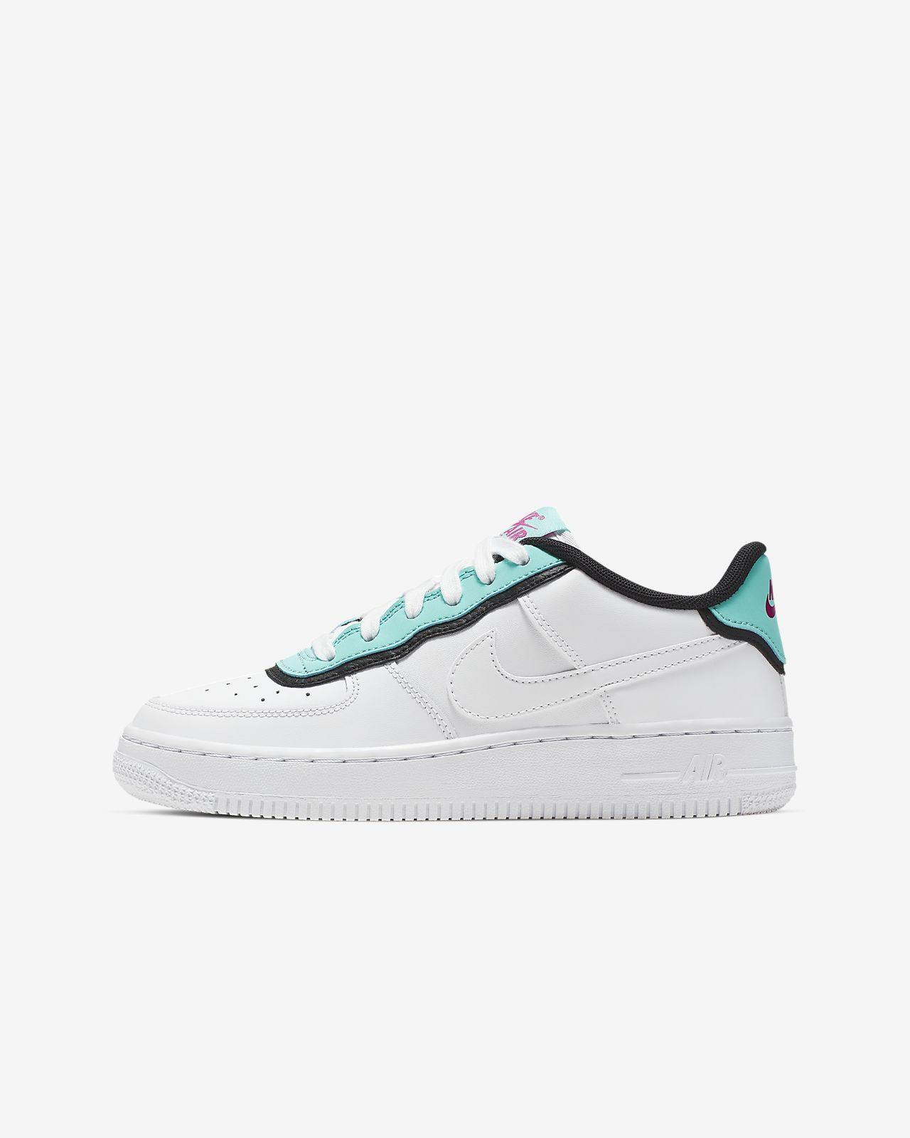25c8ed86e29 Nike Air Force 1 LV8 1 DBL Kinderschoen. Nike.com BE