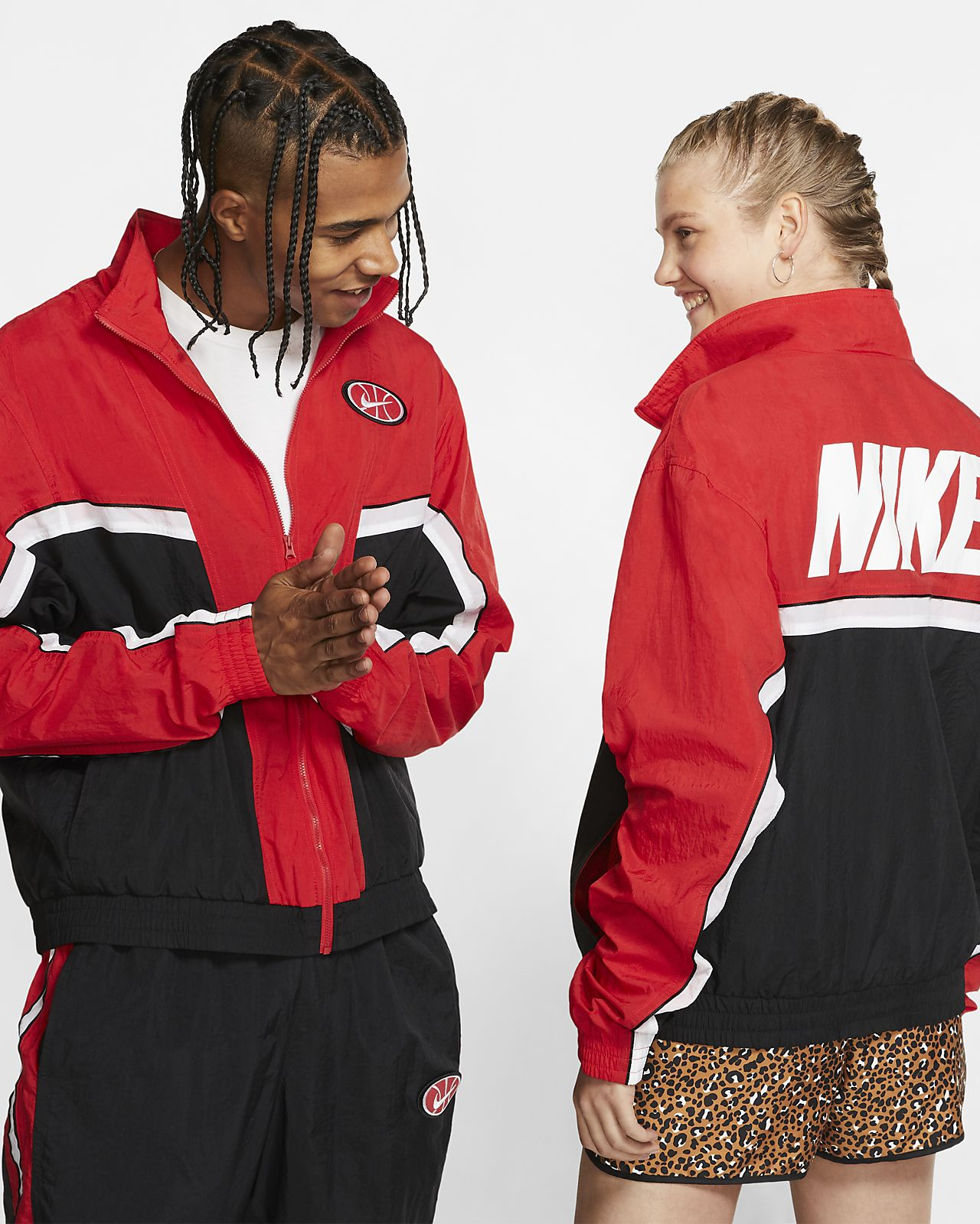 Nike Throwback Herren-Basketballjacke