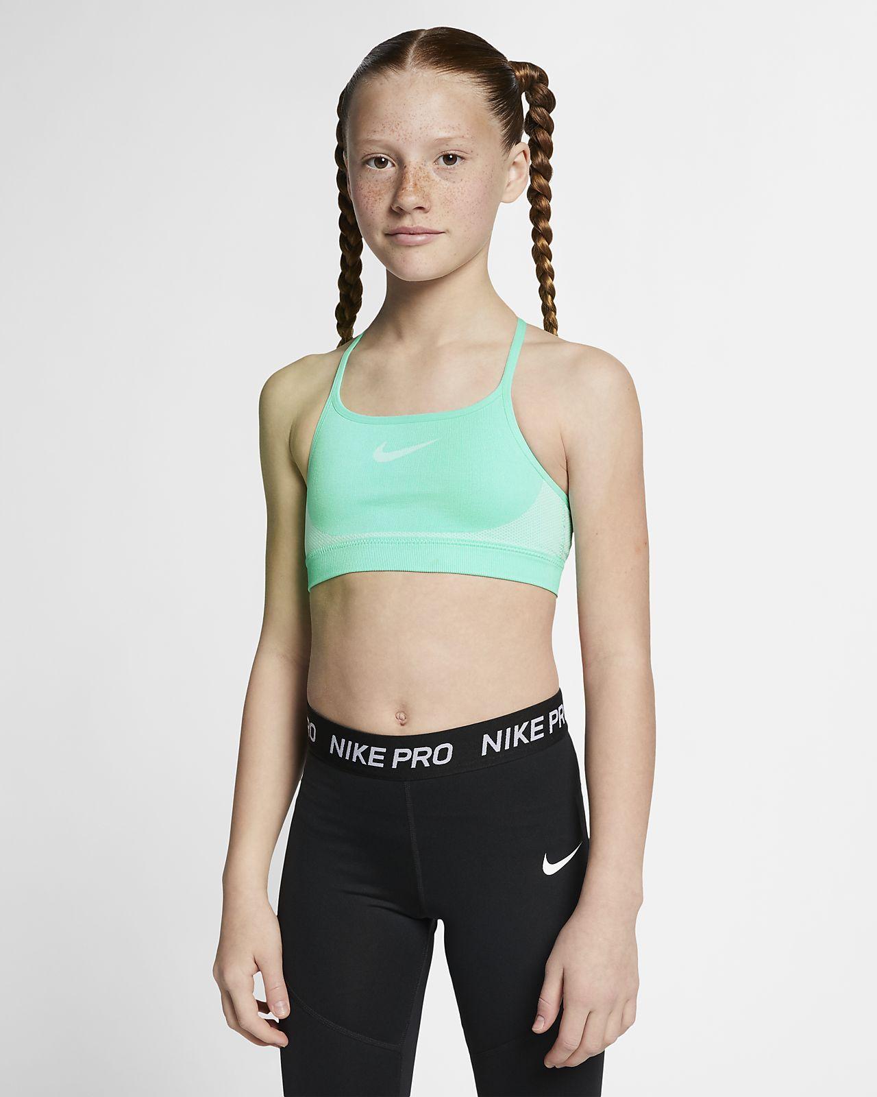 Brassière sculptante Nike pour Fille