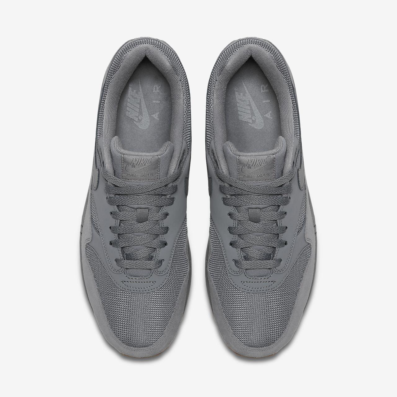 scarpa nike air max 1 cool greycool greygum medium brown