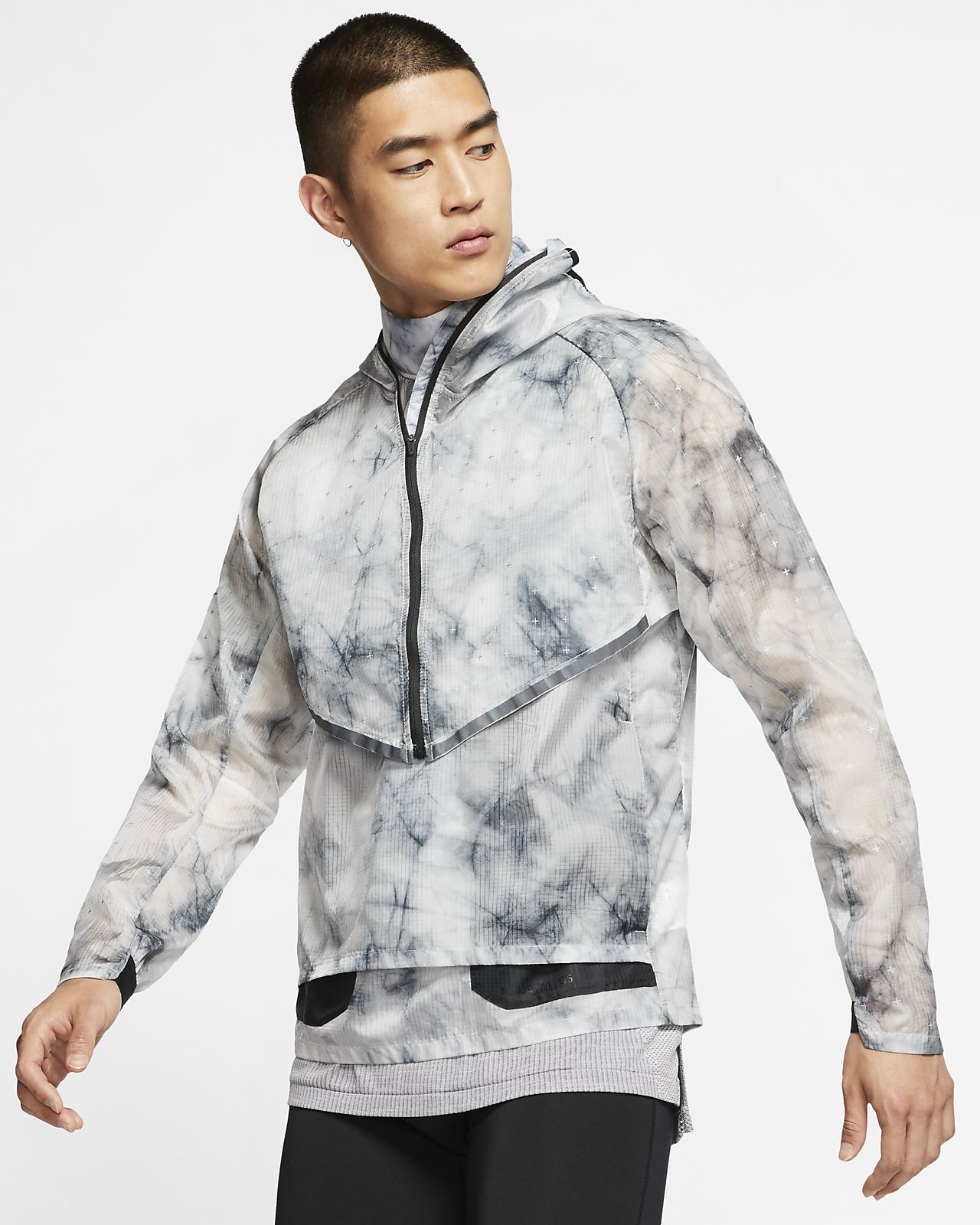 Nike Tech Pack Men's Hooded Running Jacket