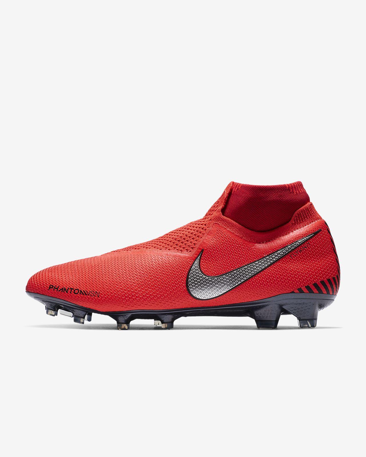Chuteiras de futebol para terreno firme Nike PhantomVSN Elite Dynamic Fit  Game Over FG 0c2a7951d55fd