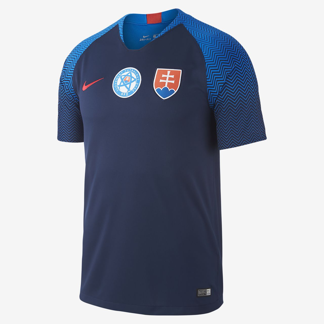Camiseta de fútbol para hombre 2018 Slovakia Stadium Away
