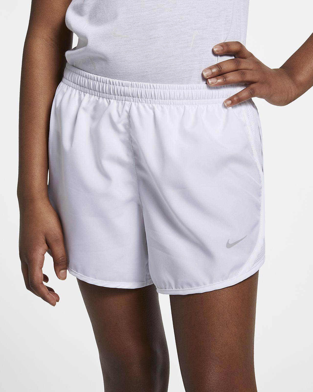 f14f1b31bf88 Nike Dri-FIT Tempo Big Kids  (Girls ) Running Shorts. Nike.com