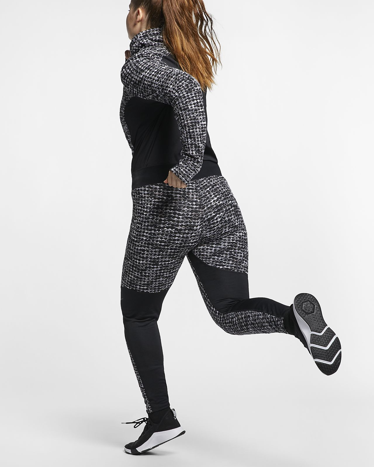Smuk Nike Pro HyperWarm (Plus Size) Women's Tights. Nike.com GB JL-05