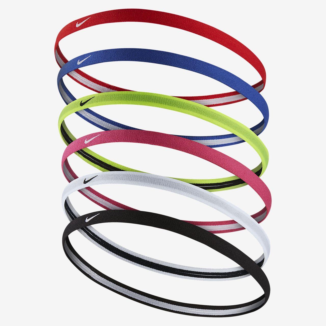 Nike Swoosh Sport 2.0 Headbands (6 Pack)