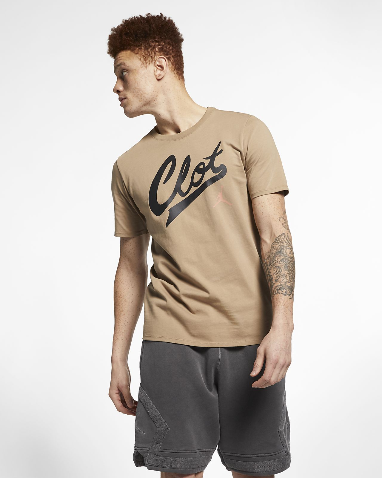 Jordan x CLOT 男子T恤