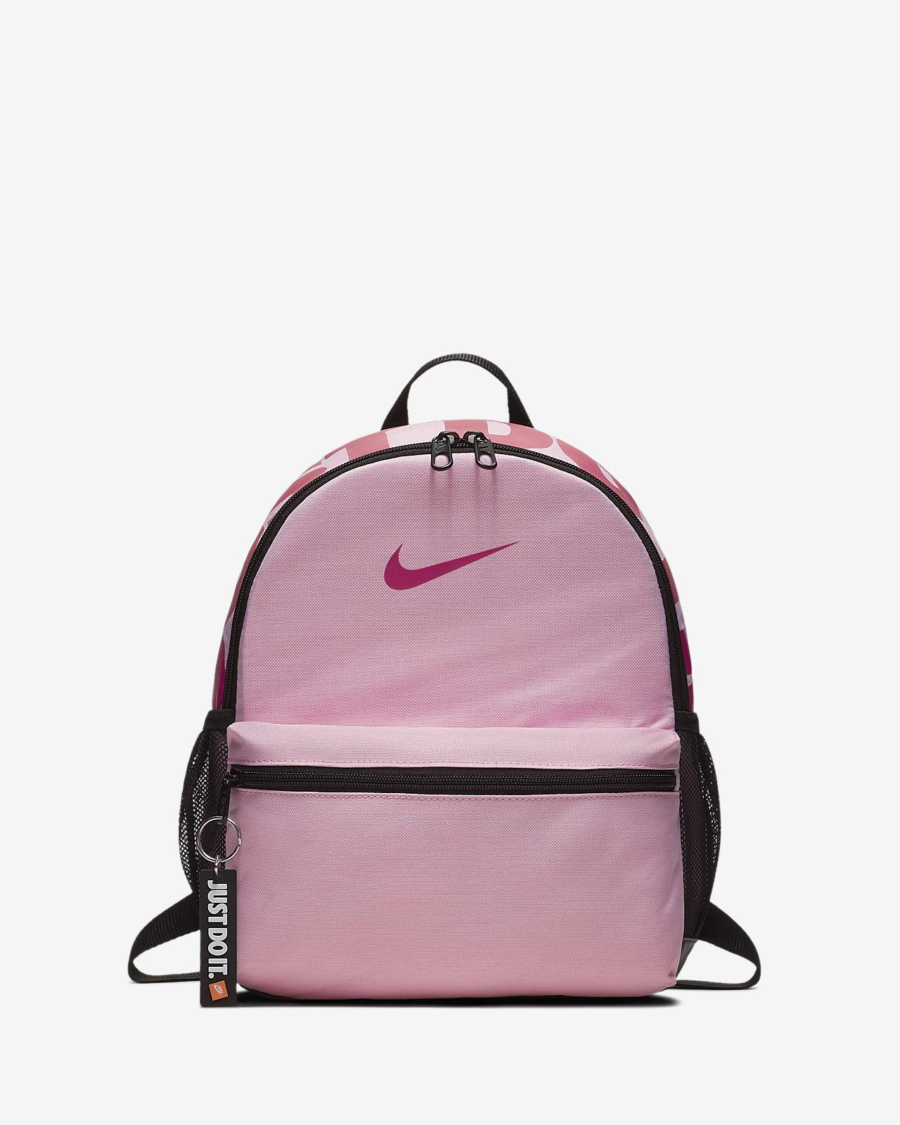 d9af598f38af Nike Pink Just Do It Logo Mini Backpack- Fenix Toulouse Handball