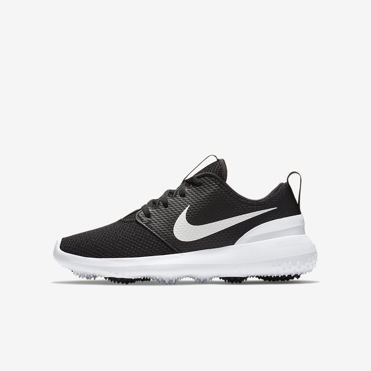 Кроссовки для гольфа для дошкольников/школьников Nike Roshe Jr.