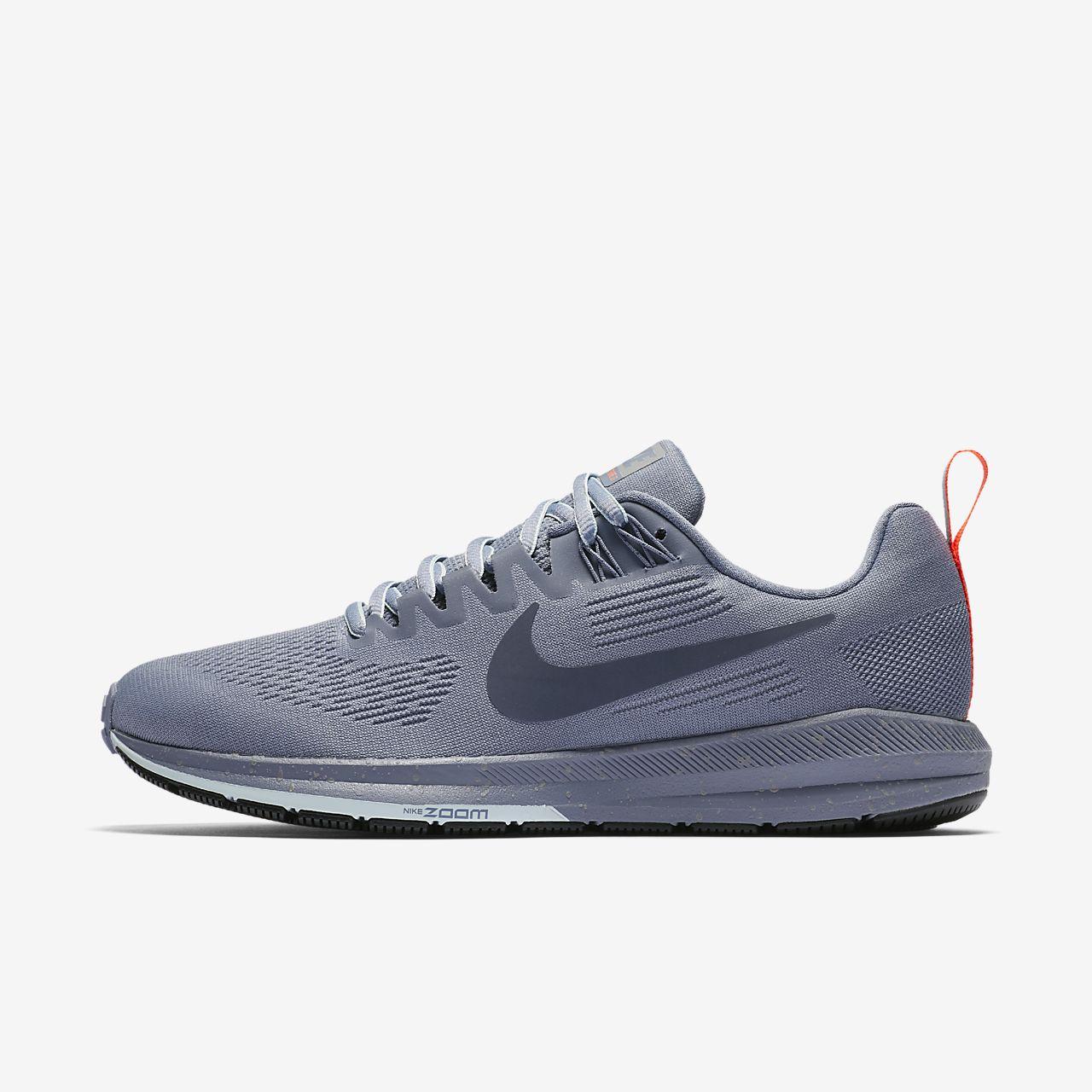 Nike Chaussures De Course Structure Zoom Air 21 - Femmes Noires / Grises oEO1goevf