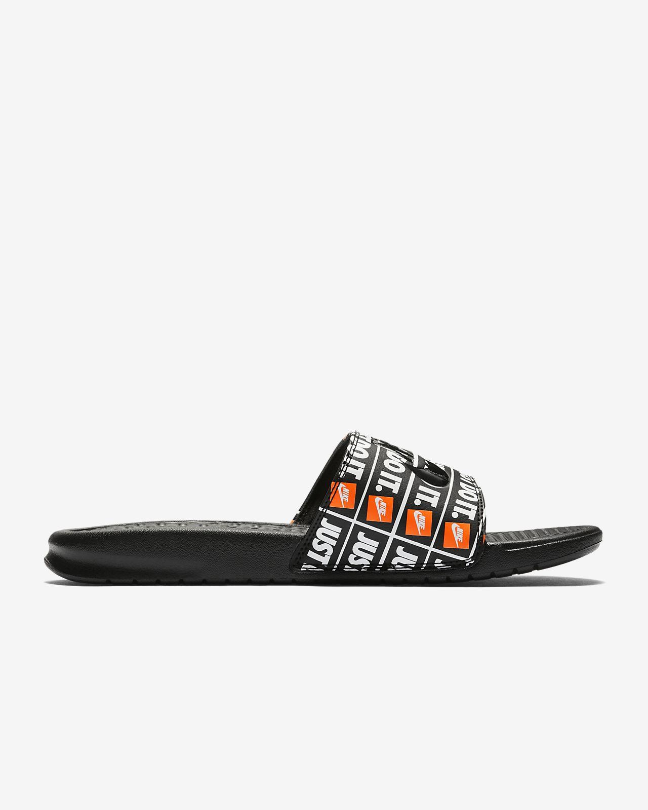 bba519f3c3c Nike Solarsoft Pour Homme claquette nike pour homme. Nike Claquettes  Benassi Just Do It Femme