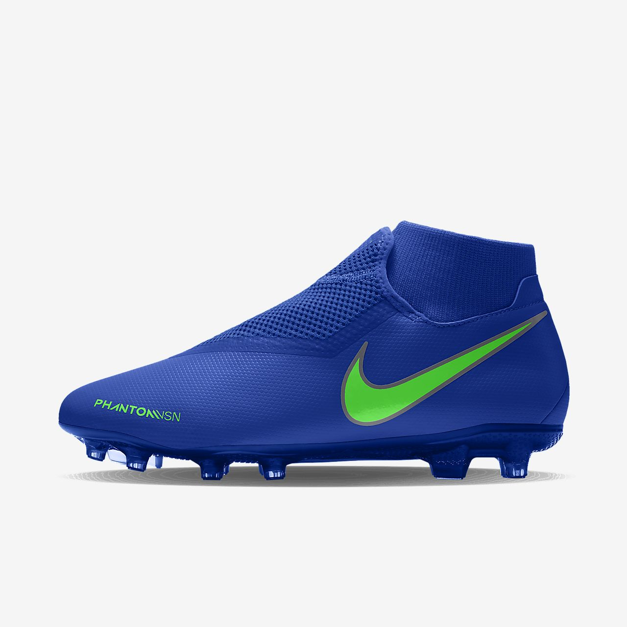 Chaussure de football à crampons multi surfaces personnalisable Nike Phantom Vision Academy MG By You