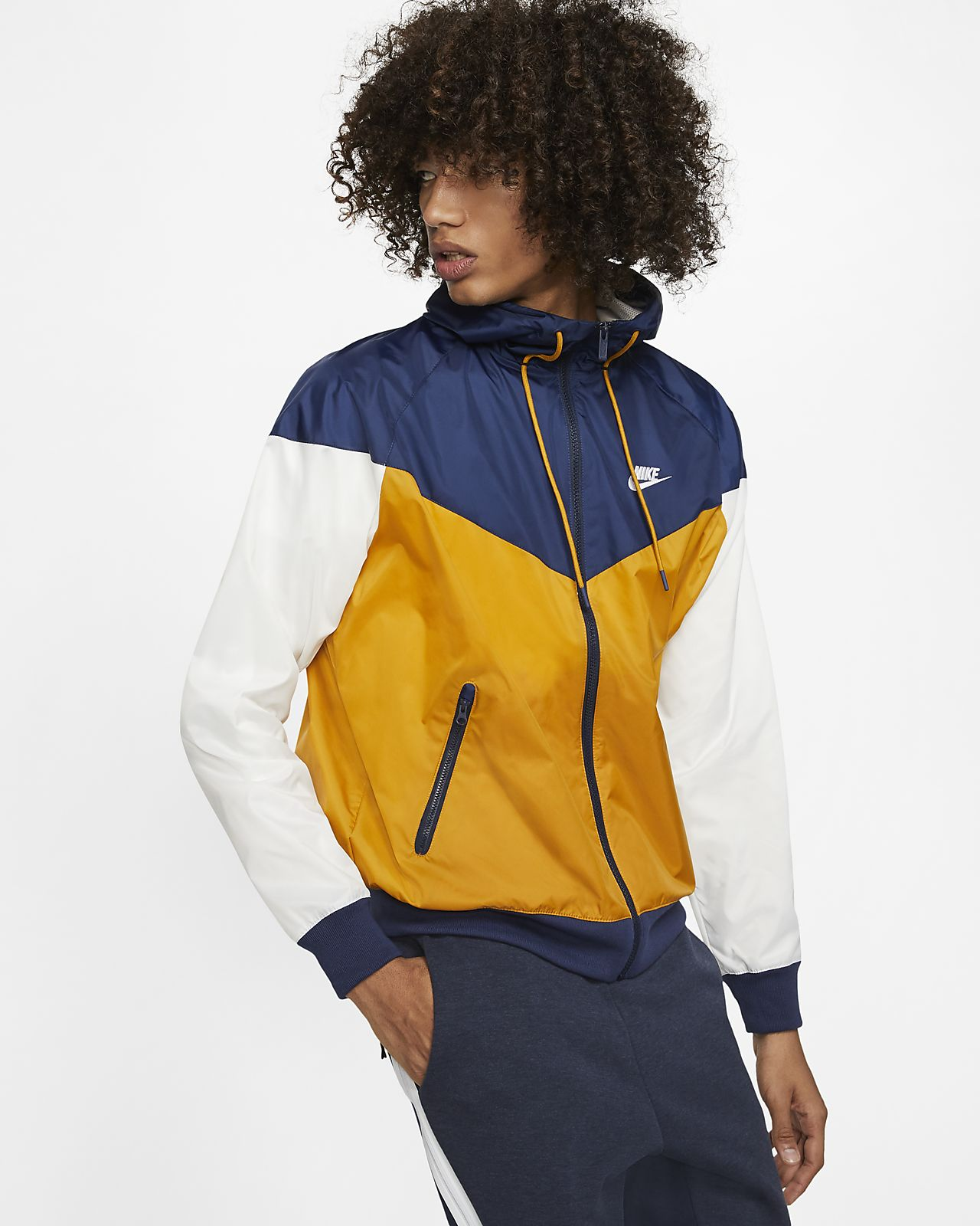 Coupe-vent à capuche Nike Sportswear Windrunner pour Homme