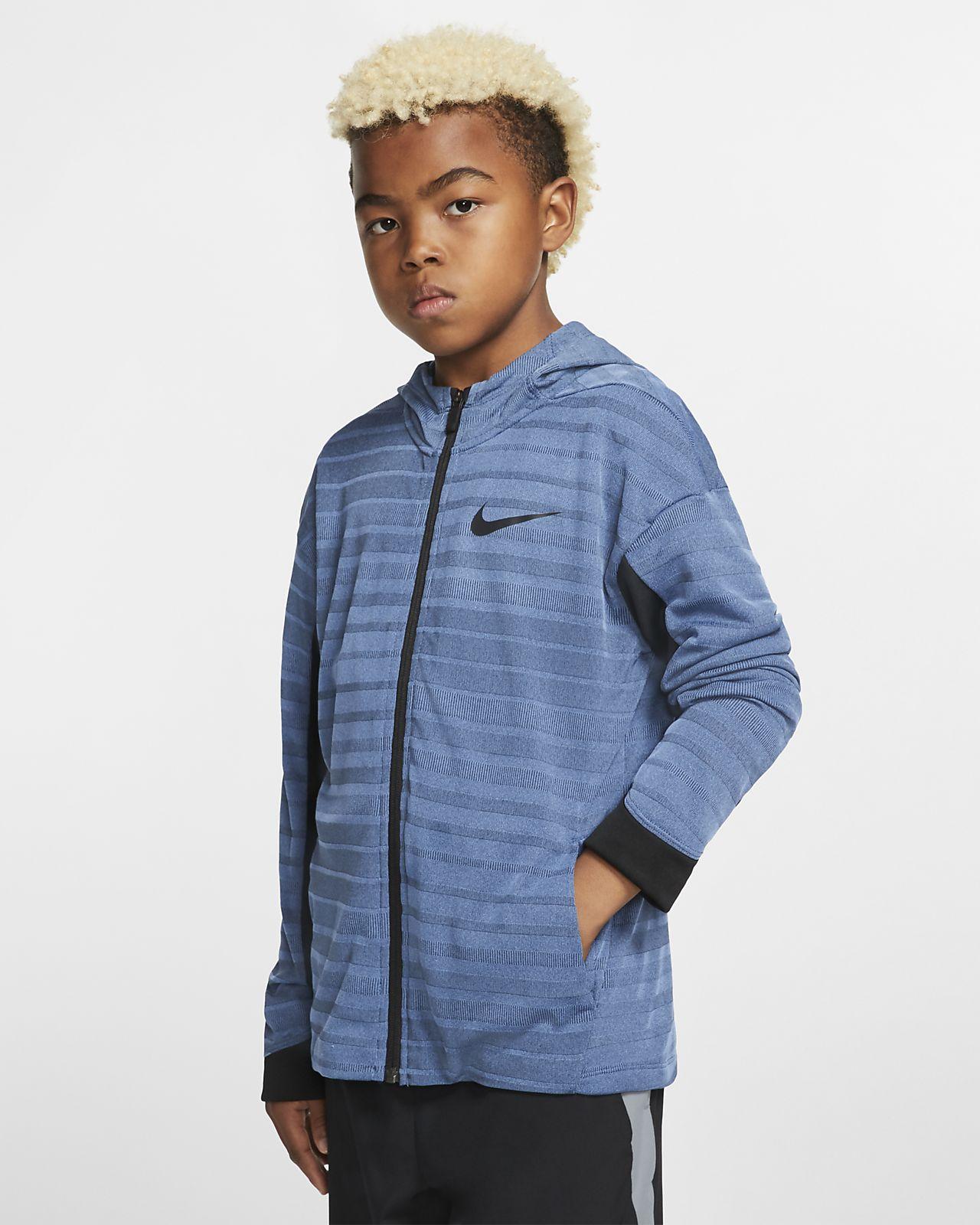 Nike Boys' Full-Zip Training Hoodie