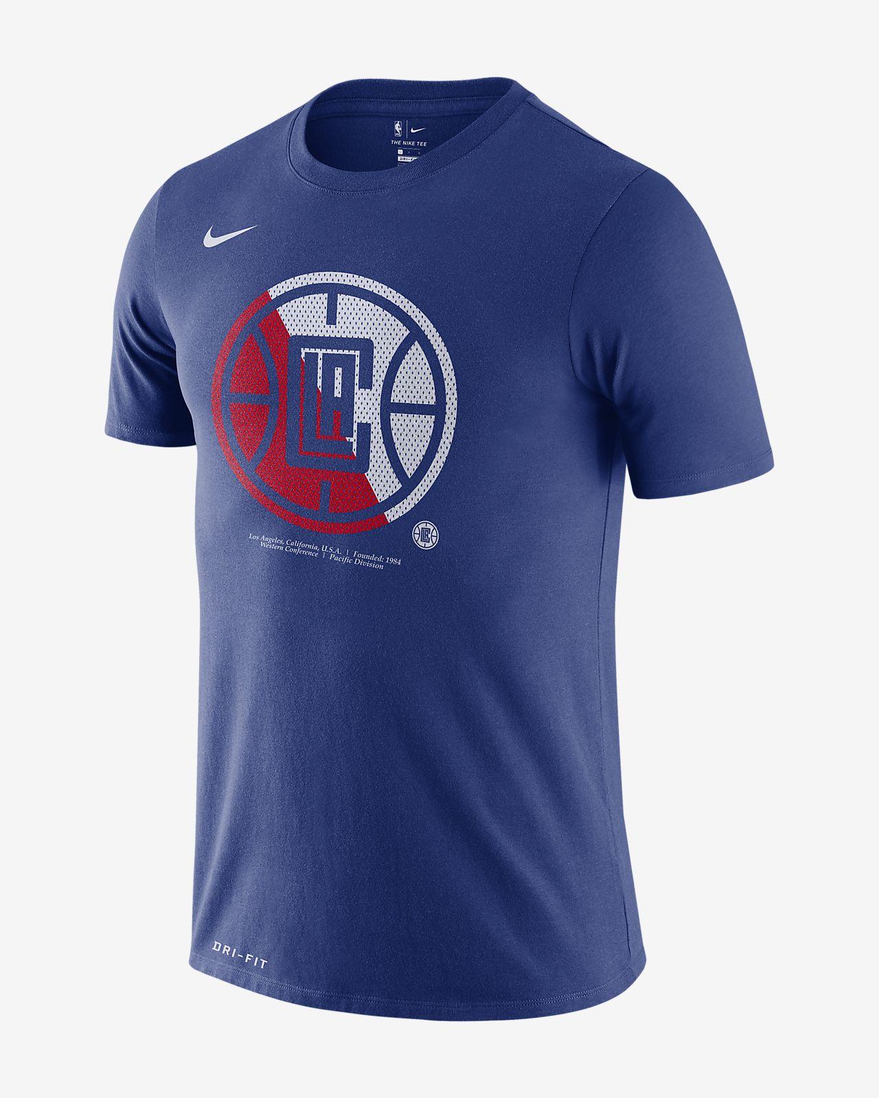 Playera de la NBA para hombre LA Clippers Nike Dri-FIT