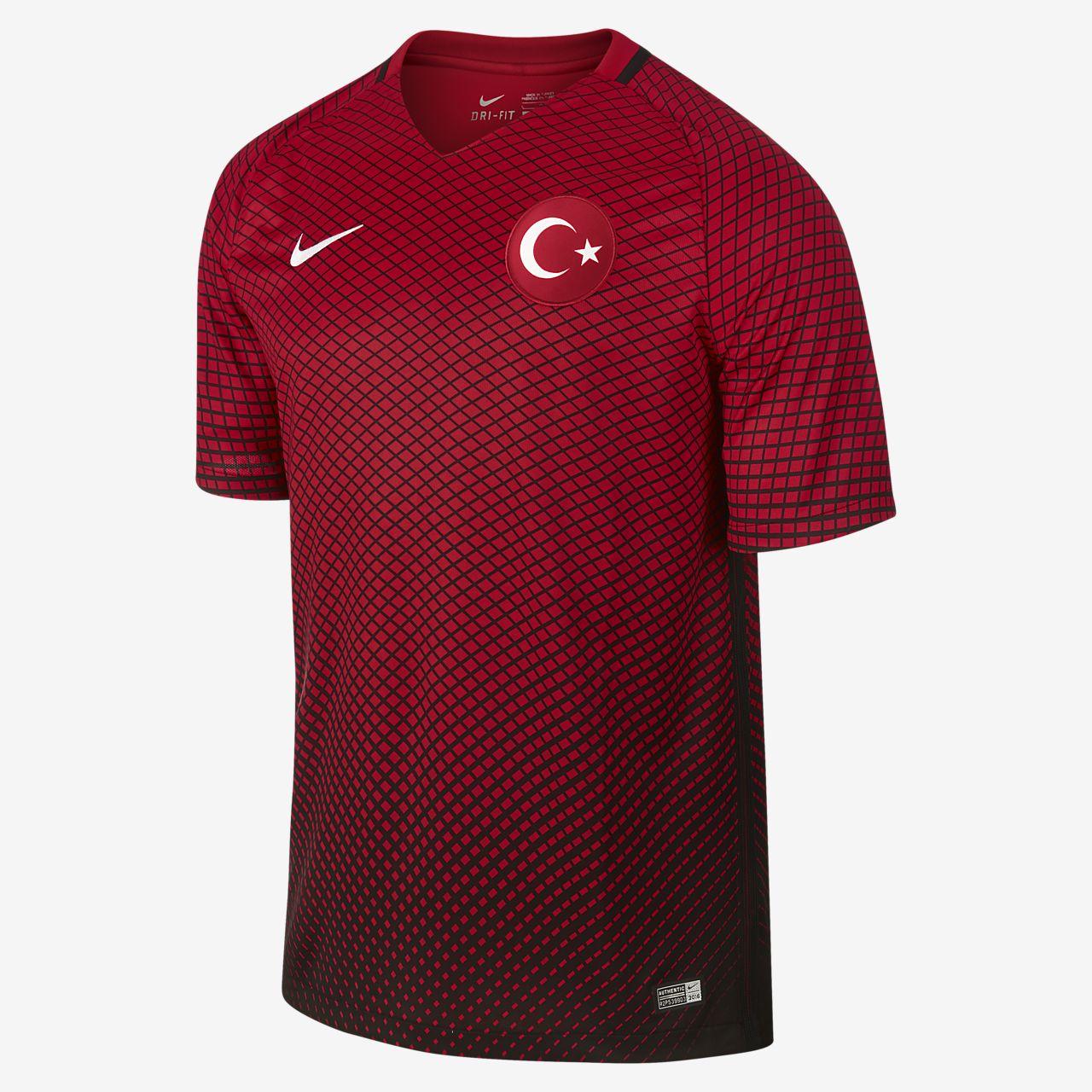 2016 Turkey Stadium Home Men's Football Shirt