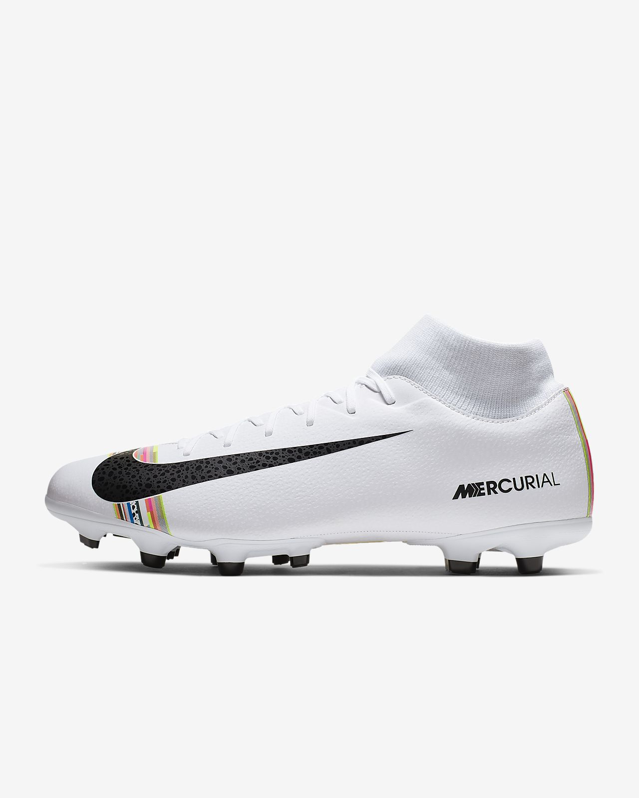 9cd49acfd2 ... Scarpa da calcio multiterreno Nike Mercurial Superfly 6 Academy LVL UP  MG