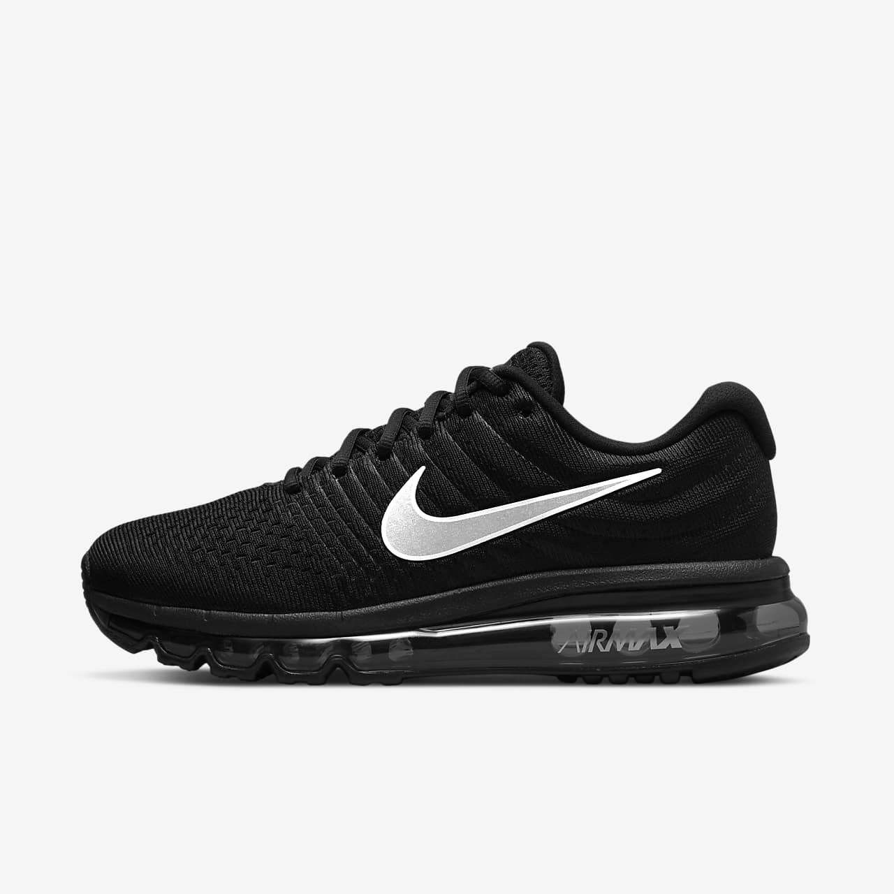 Nike Air Max  Womens Running Shoes Black