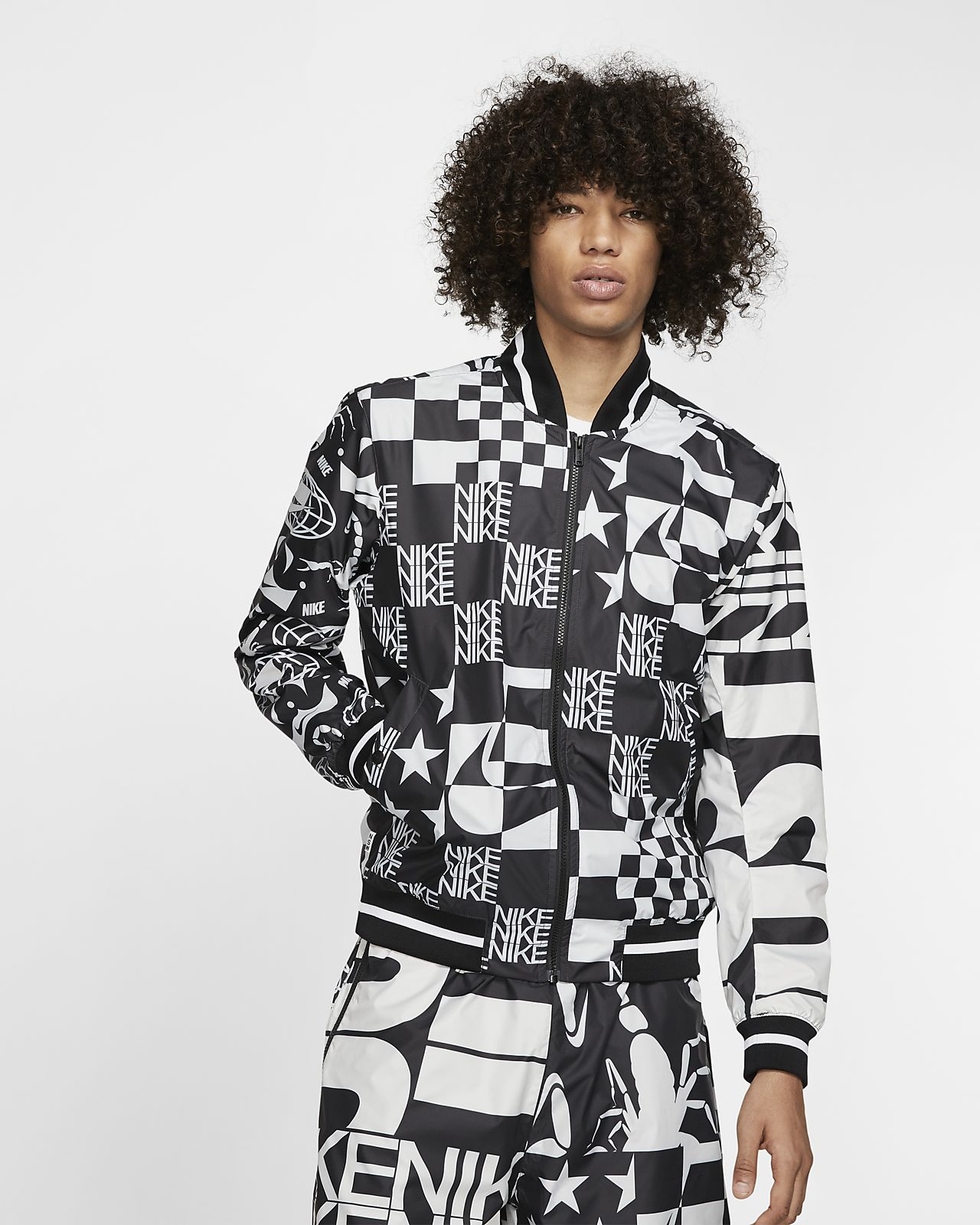 Nike Sportswear Jaqueta estampada