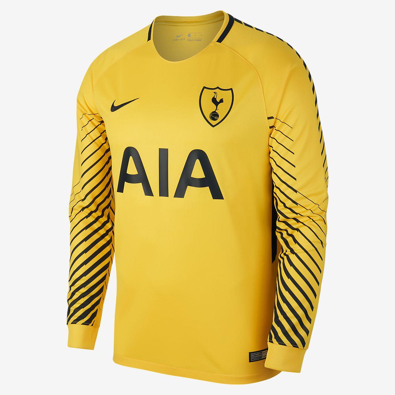 ... 2017/18 Tottenham Hotspur Stadium Goalkeeper Men's Long-Sleeve Football  Shirt