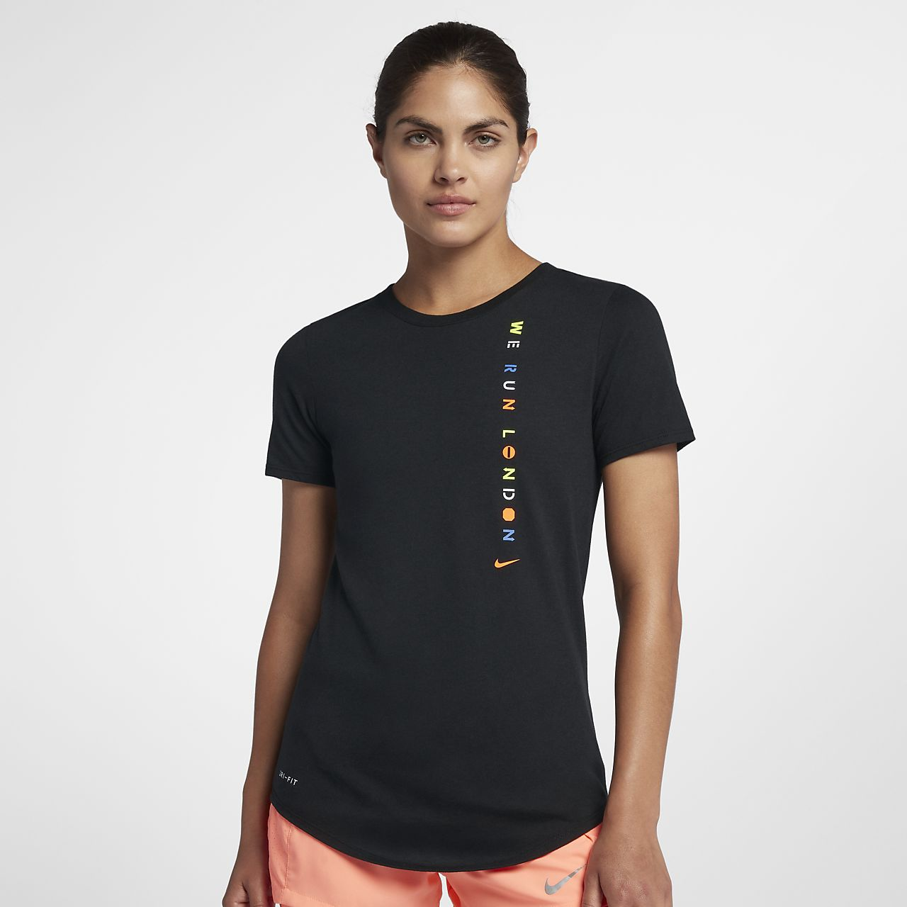 Women's Running T-Shirt. Nike (London 2018)