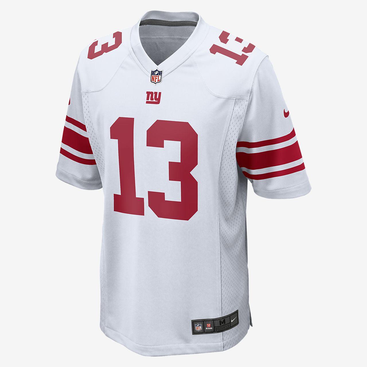 NFL New York Giants (Odell Beckham Jr.) Women's Game American Football Jersey