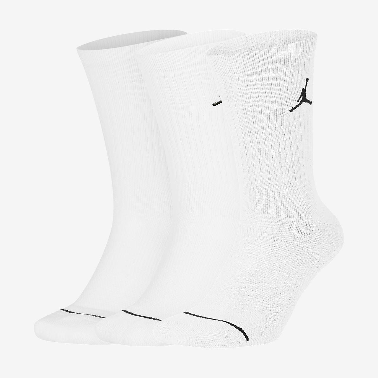 Jordan Jumpman Crew 籃球襪 (3 雙)