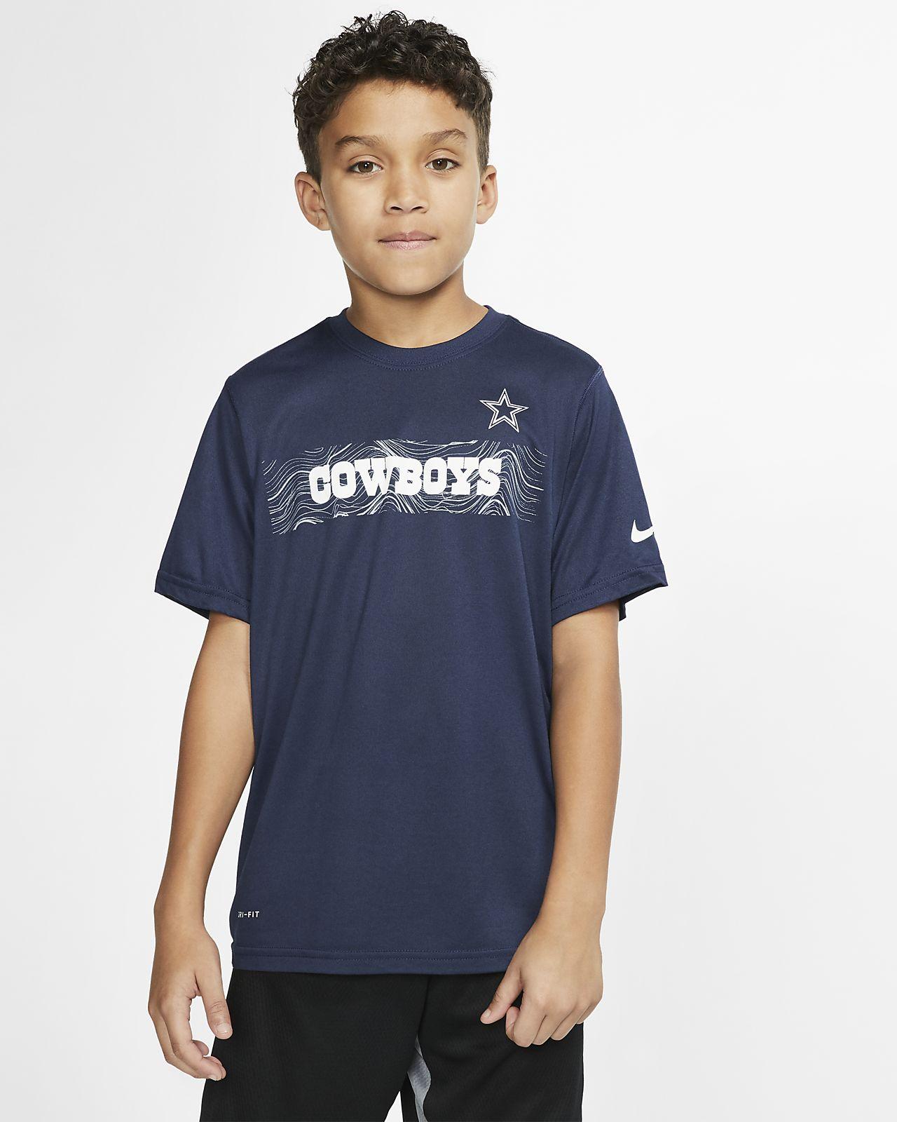 f4e8452e966 NFL Dry Legend Icon (Cowboys) Big Kids' T-Shirt. Nike.com