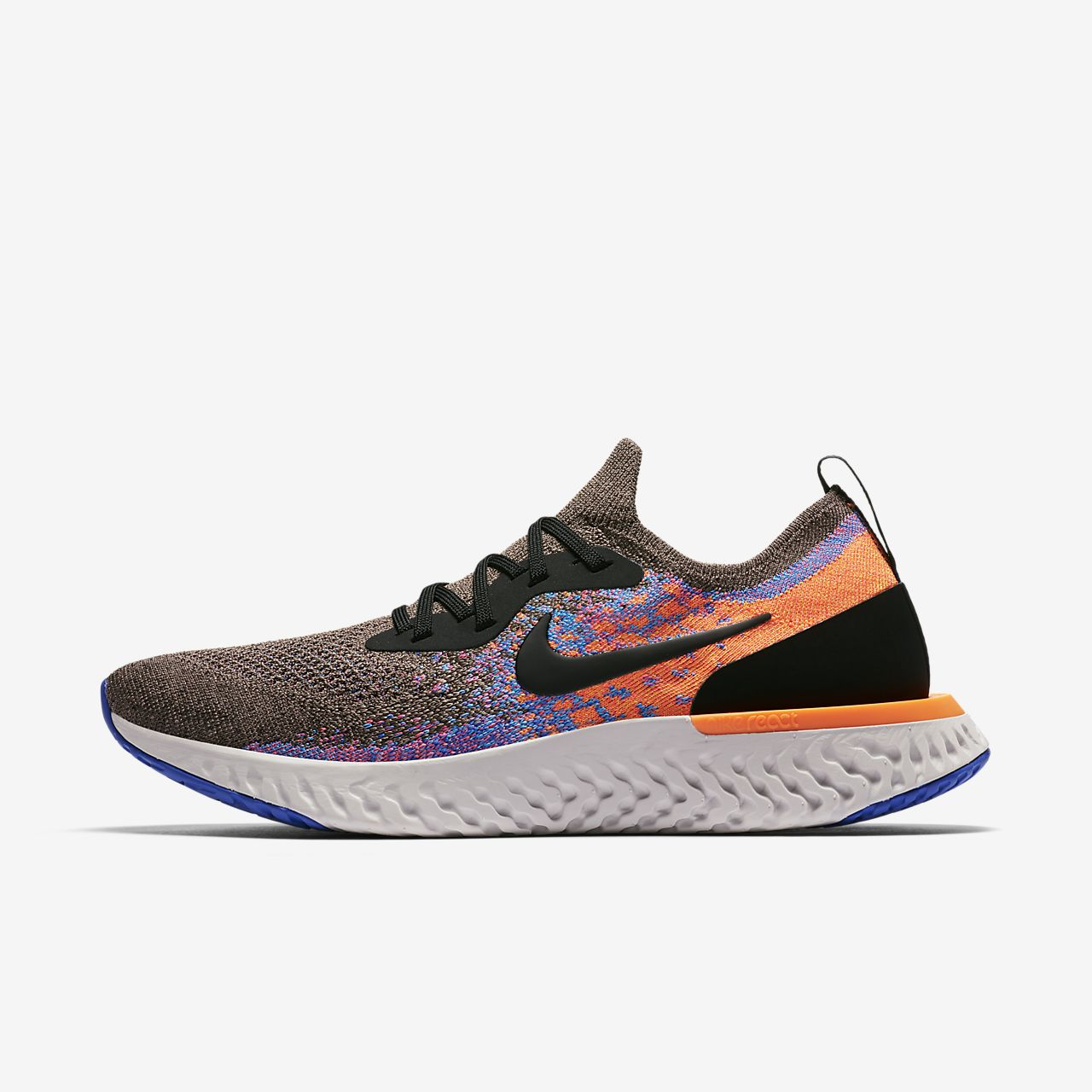 fe3fabc24 Chaussure de running Nike Epic React Flyknit pour Homme