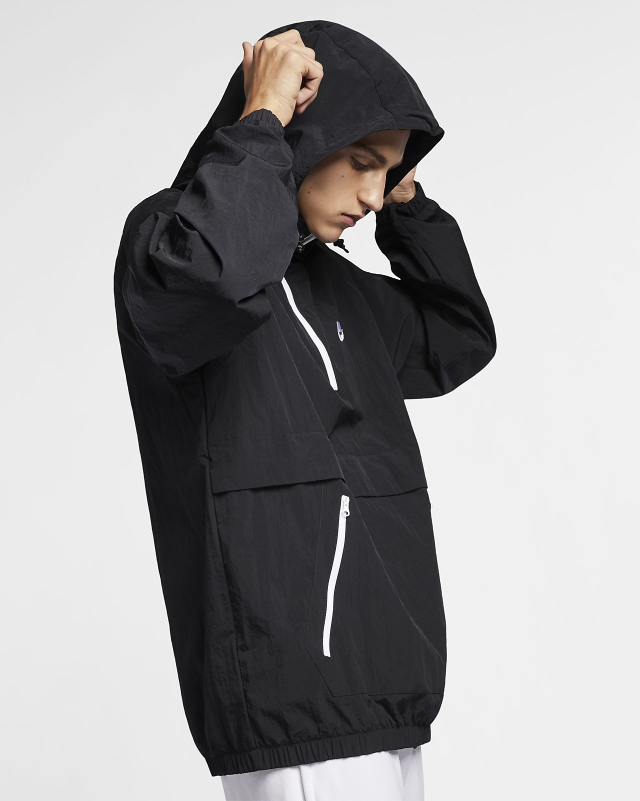 5fe3e866e0 Nike Sportswear Men s Hooded Woven Anorak. Nike.com MY