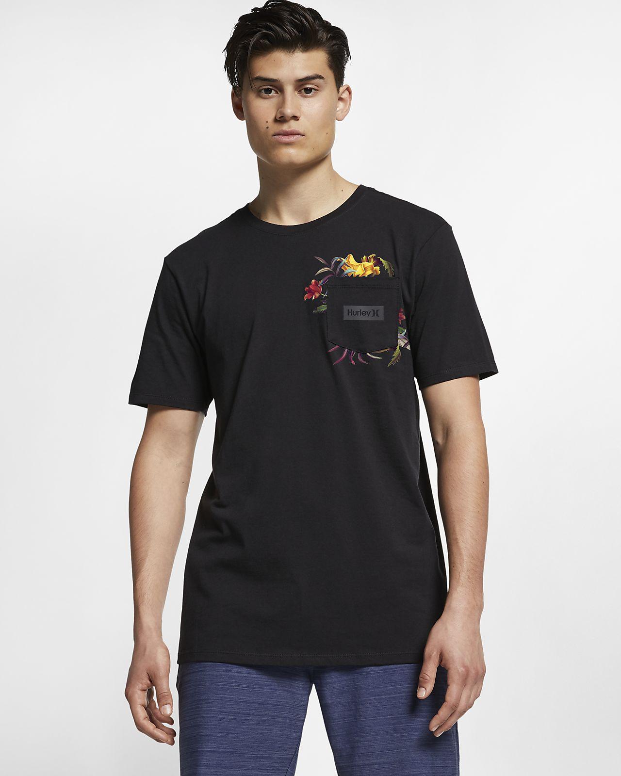 Hurley Premium Fat Cap Men's Pocket T-Shirt