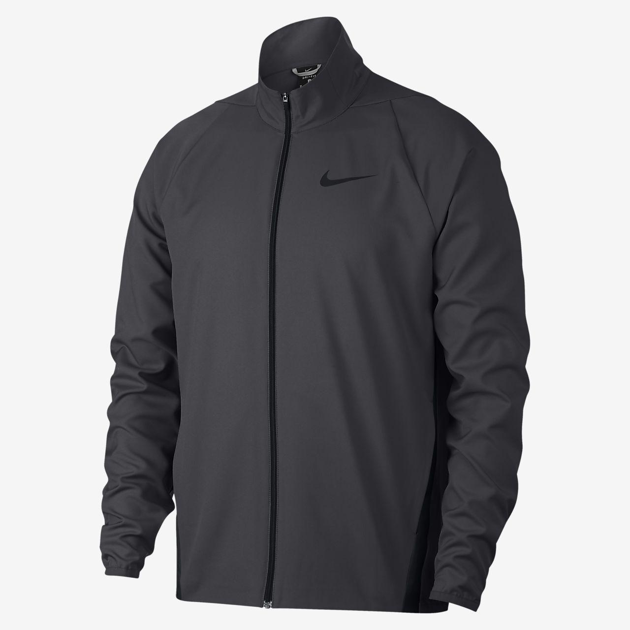 Nike Dri-FIT-vævet træningsjakke til mænd