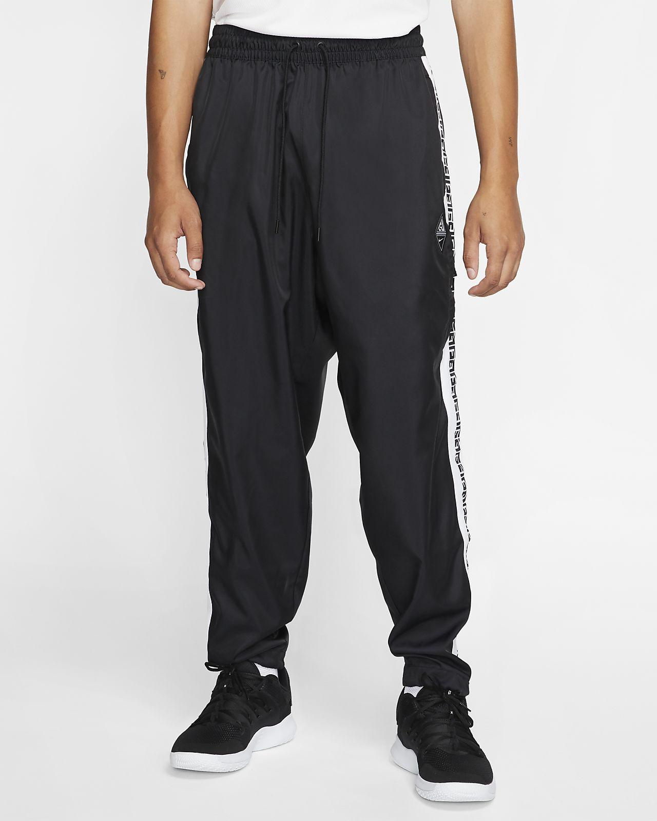 Pantalones de entrenamiento de básquetbol con logotipo para hombre Giannis