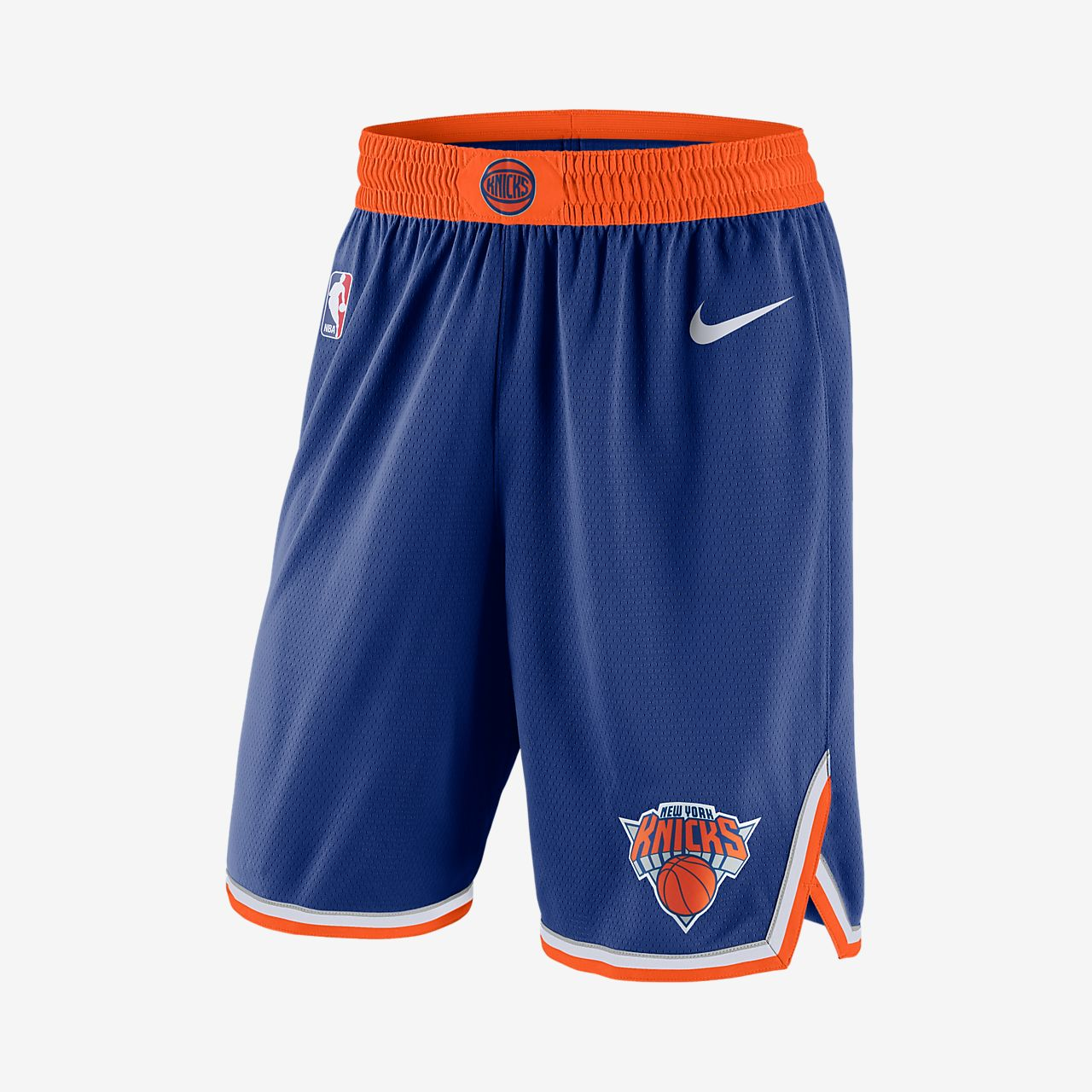 Shorts NBA New York Knicks Nike Icon Edition Swingman - Uomo