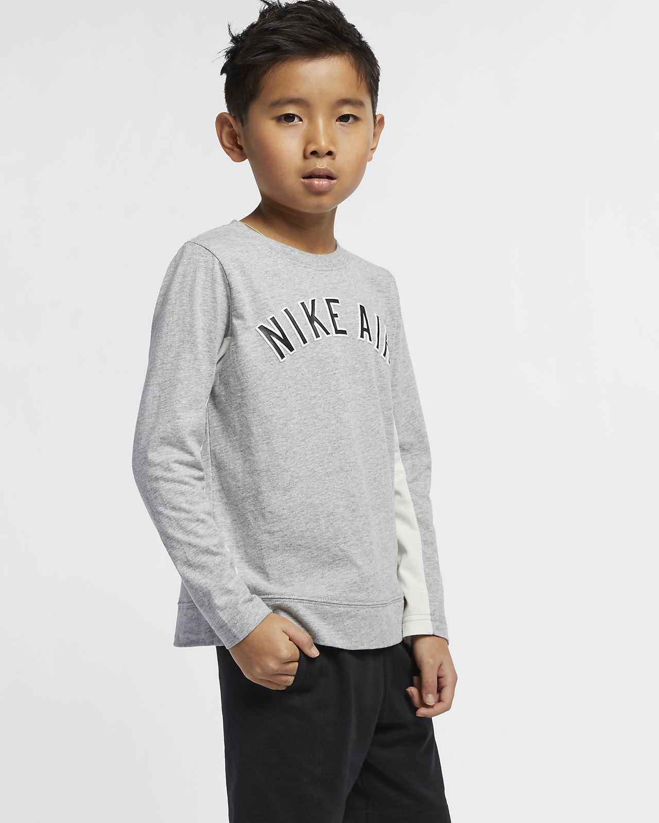 Nike Air Younger Kids' Long-Sleeve Top