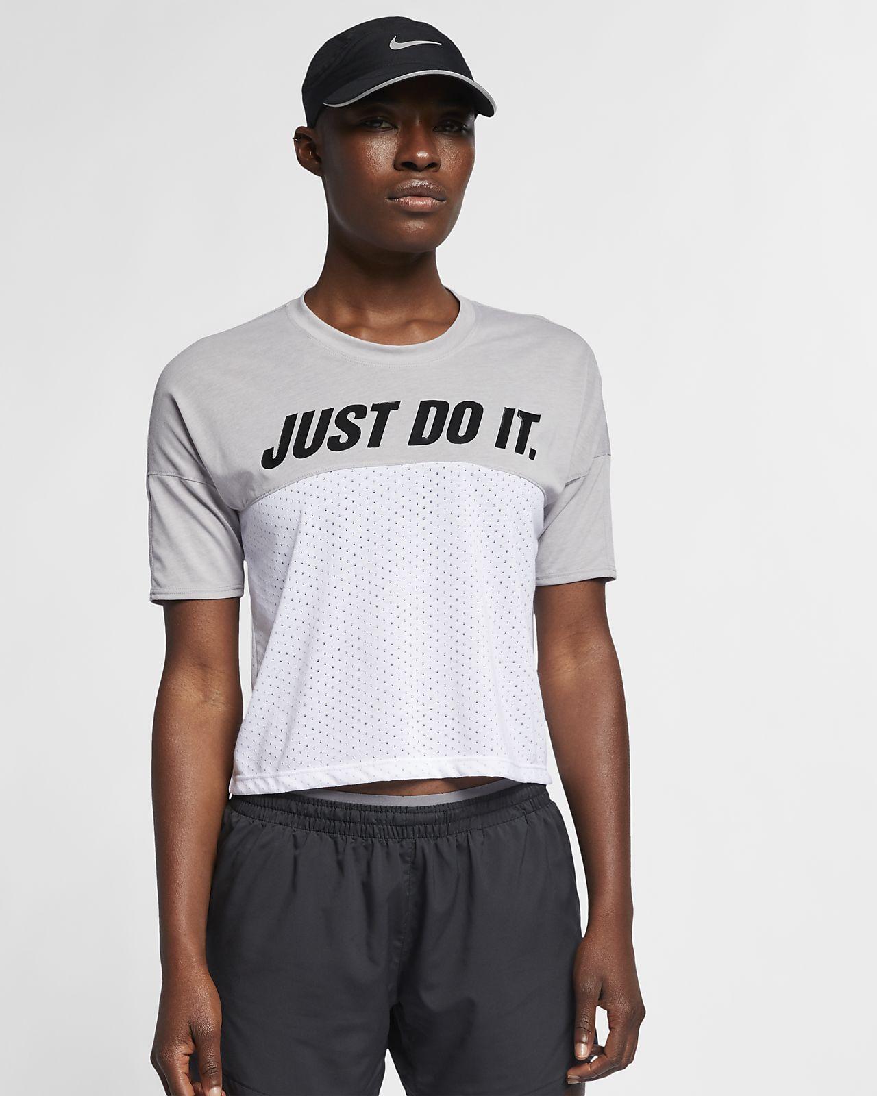 01effa55 Nike Tailwind Women's Short-Sleeve Running Top