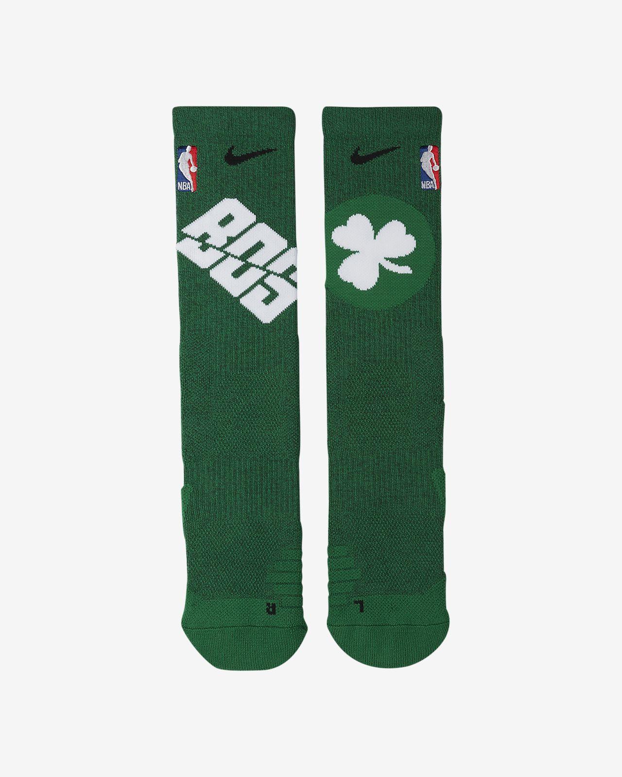 db988d88ad4 Boston Celtics Nike Elite NBA Crew Socks. Nike.com
