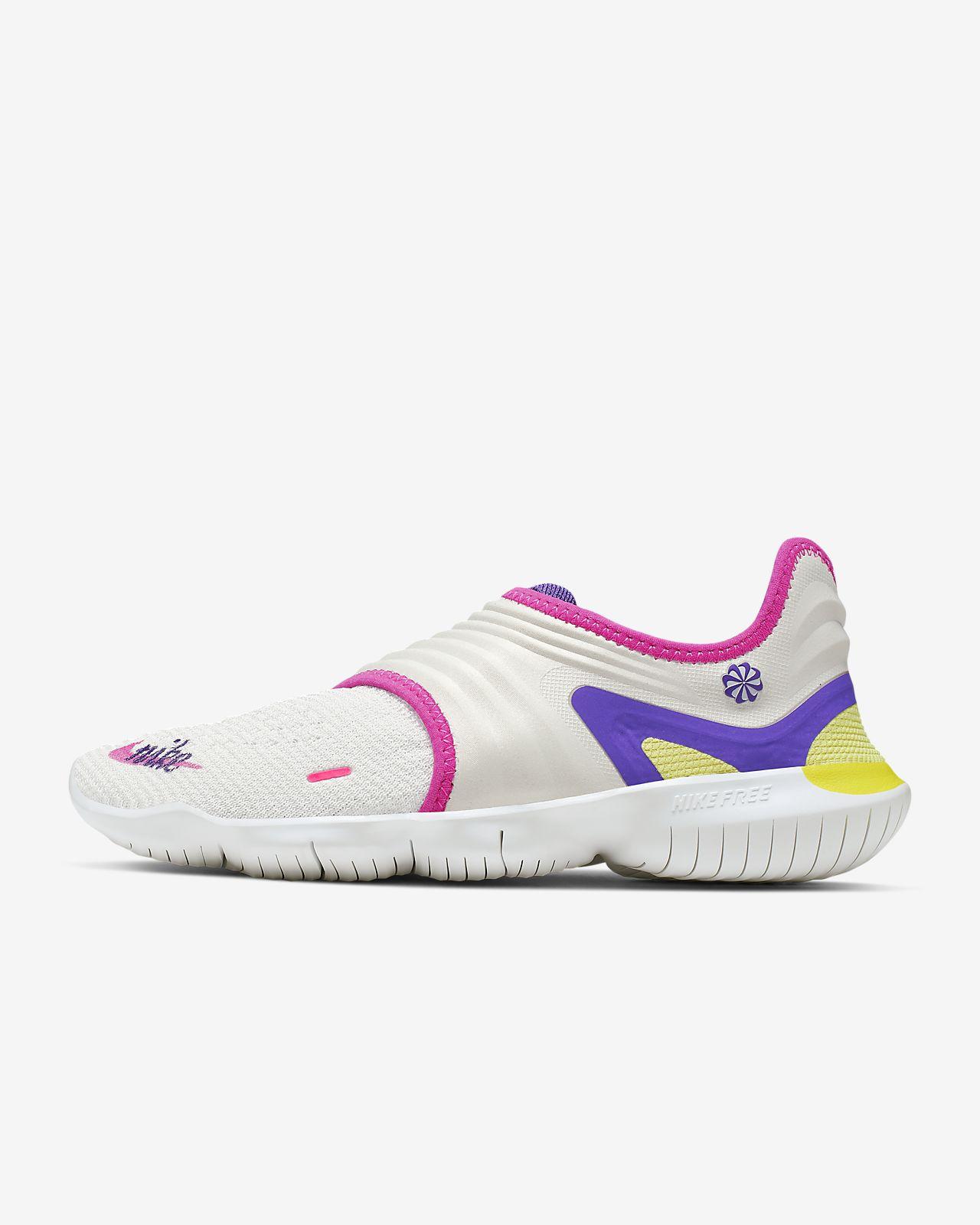 nike free rn violet