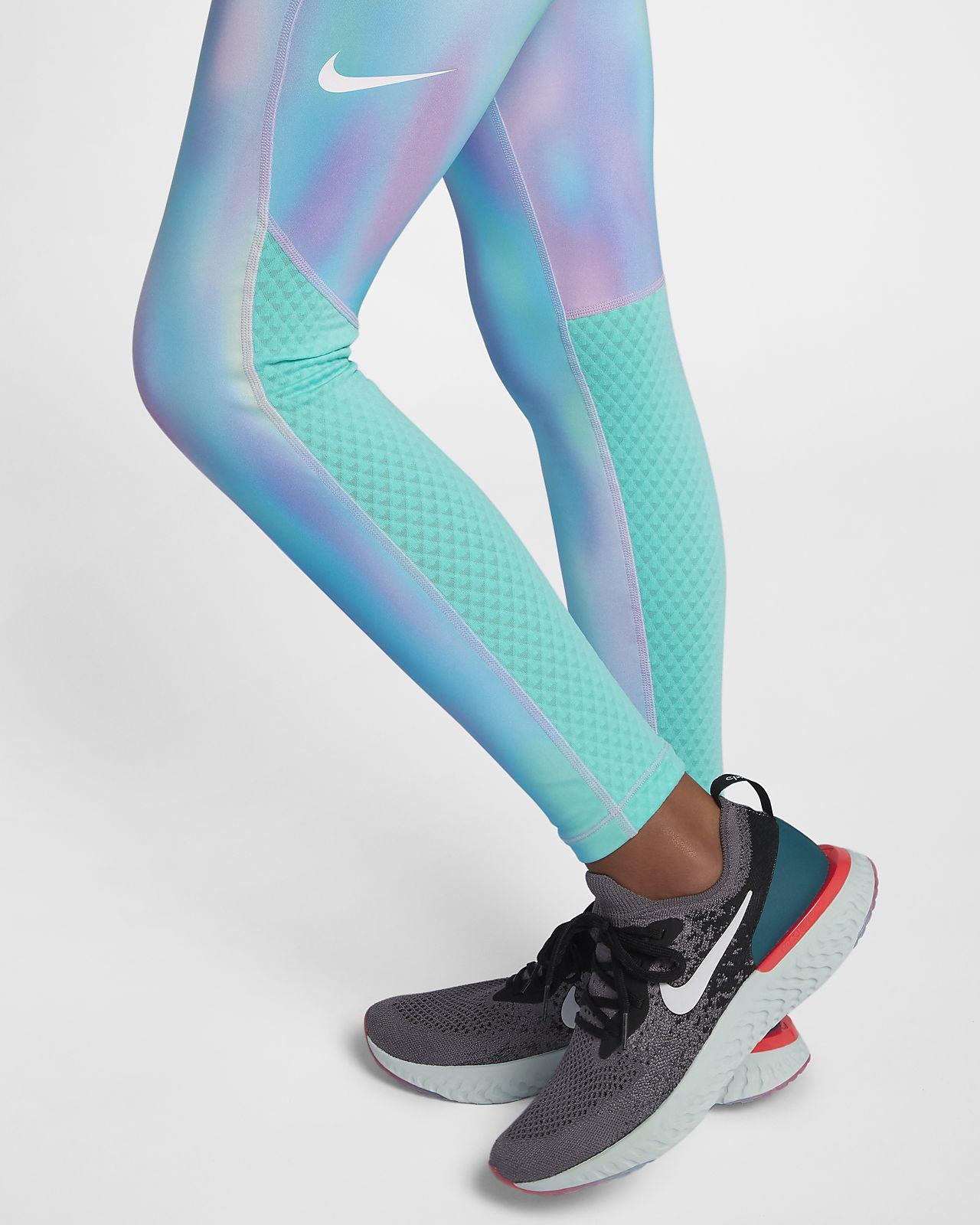 20c61db5e03ab9 Nike Pro Warm Older Kids' (Girls') Printed Training Tights. Nike.com NZ