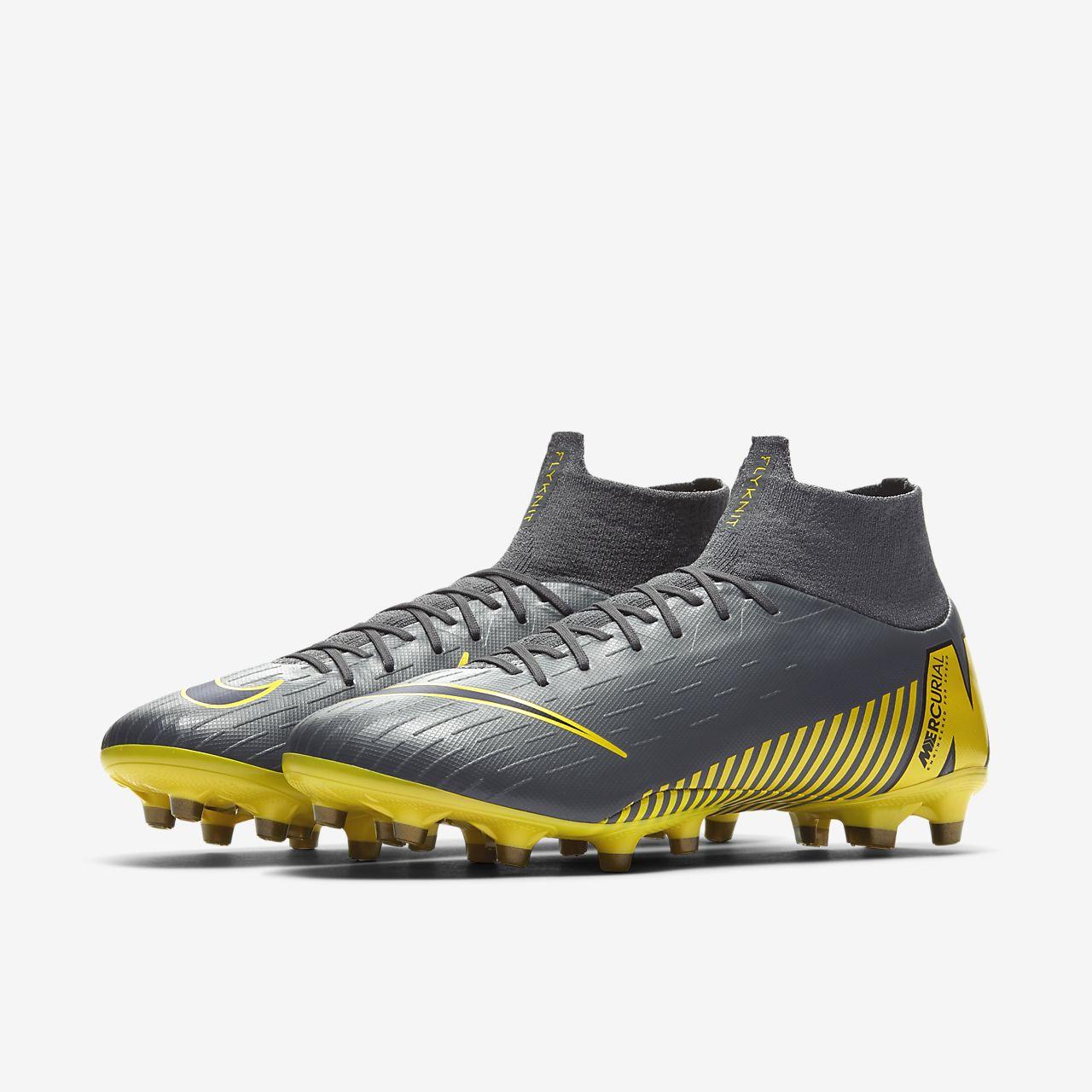 detailed look 6f1d2 b780c ... Chaussure de football à crampons pour terrain synthétique Nike  Mercurial Superfly VI Pro AG-PRO