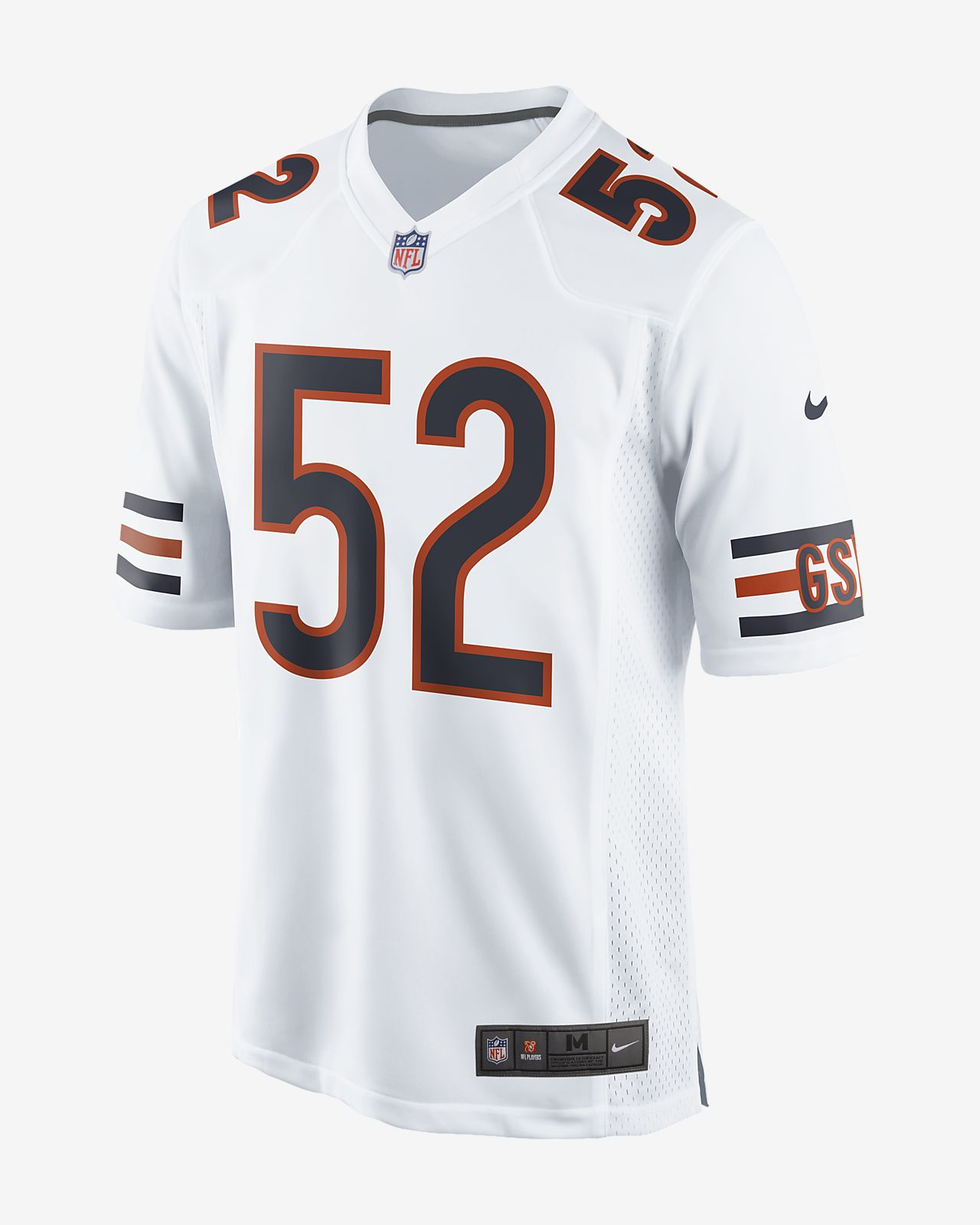 6e954186056 NFL Chicago Bears (Khalil Mack) Men s Game Football Jersey. Nike.com
