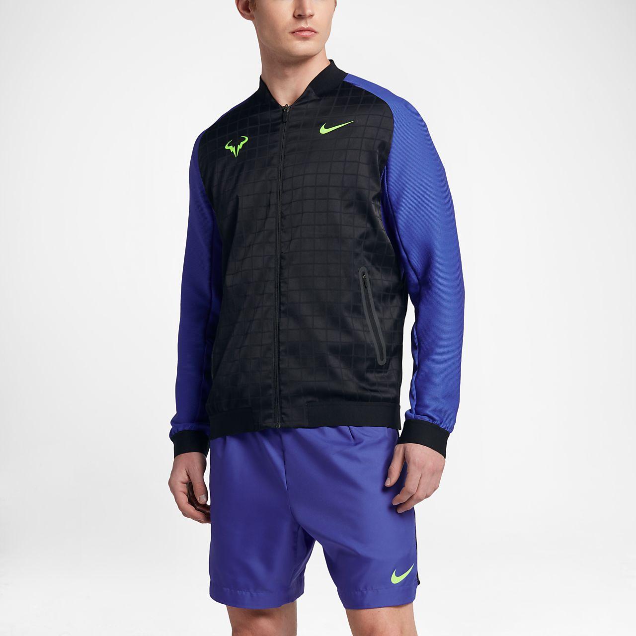 nike tennis jacket nadal