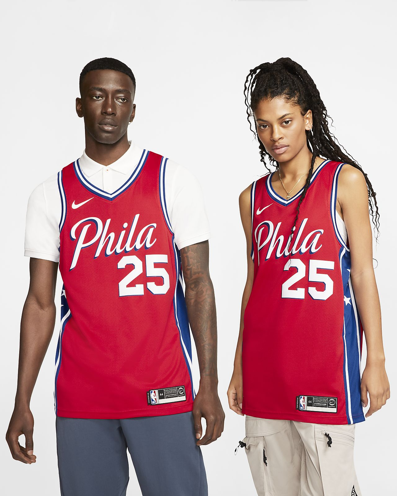 Ben Simmons 76ers Statement Edition Swingman Nike NBA-jersey