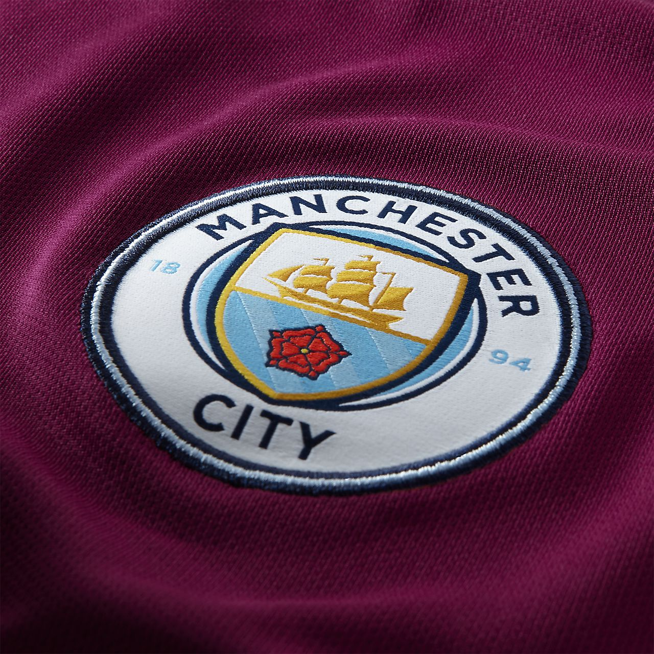 Delapan Manchester City Fc Stadium Away Mens Football Shirt